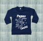Preview: Baby Sweat-Shirt Papas Teufel