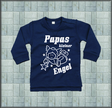 Baby Sweat-Shirt Papas Engel